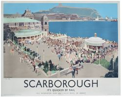 Poster LNER SCARBOROUGH by Fred Taylor. Quad Royal 50in x 40in. In excellent condition