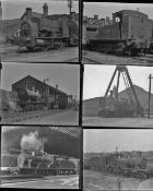 Approximately 41 mostly large format glass negatives. Taken in 1927 includes a mix of GWR, M&GN, MR,