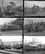 Approximately 50 mostly large format glass negatives. Taken in 1923 includes: Isle of Wight Rly,