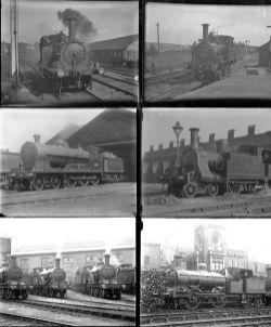 50 mostly large format glass negatives. Taken in 1923 includes: Isle of Wight Rly, MR LSWR and