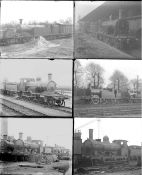 Approximately 50 almost all large format glass negatives. Includes LSWR taken in 1923 at Nine