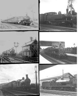 41 large format glass negatives. Taken in 1930 includes Irish Railways CDRJC, CNR(I): Donegal,