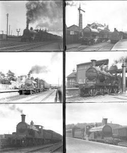 30 large format glass negatives. Taken in 1930 includes all Scotland LMS: Inverness, Forres,