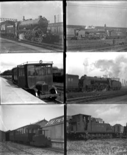 41 large format negatives a mix of glass and cellulose. Taken in 1930/31 includes: Rye & Camber