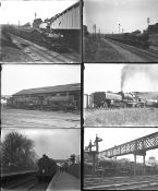 Approximately 30 large format glass negatives. Taken in 1928/29 includes almost all LMS: mostly