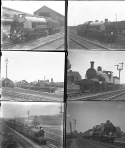 48 large format glass negatives. Taken in 1929 includes SR: mostly Salisbury, Brighton and some