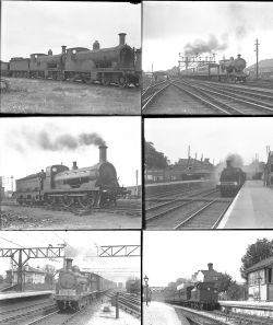 50 mostly large format glass negatives. Taken in 1926 includes mostly SR: Eastleigh, Tonbridge and