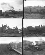 Approximately 29 mostly large format glass negatives. Taken in 1928 and 1931 includes LMS at Wick,