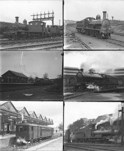30 large format glass negatives. Taken in 1928 mostly taken at Inverness, some at Dingwall and a few