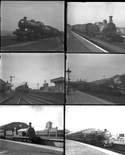 50 mostly large format glass negatives. Taken in 1928 includes mostly SR and some LMS: Ramsgate,