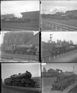 52 large format glass/non-glass negatives. Taken in May/June 1924 includes SECR, SR and LSWR at