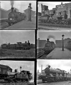 Approximately 50 mostly large format glass negatives. Taken in 1926/27 includes a mix of MR, GNR,