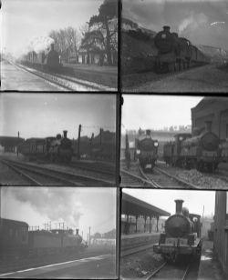 26 mostly large format glass negatives. Taken in 1931 includes SR: Clapham Junction, Virginia Water,