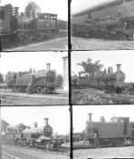 Approximately 50 large format glass and non-glass negatives. A mix of IOW Rly LSWR, LBSCR and