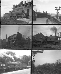 31 mostly large format glass negatives. Taken in 1929/30 includes SR: Ashford, Dover, New Cross,