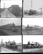 Approximately 23 large format glass negatives. Taken in 1929/30 includes LNER: Southend,