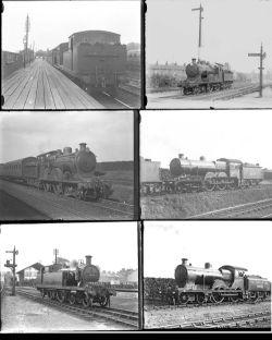 23 large format glass negatives. Taken in 1929/30 includes LNER: Southend, Upminster, Shoeburyness