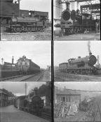 Approximately 50 mostly large format glass negatives. Taken in 1926-1928 includes LSWR at Halwill,