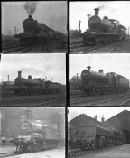 Approximately 26 large format glass negatives. Taken in 1927 includes Scotland LMS, LNER: Ferryhill,