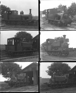 20 large format glass negatives. Taken in 1927 includes Colonel Stephens: HMST Ringing Rock, S&MR