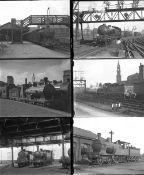 Approximately 34 mostly large format glass negatives. Taken in 1930/31 includes LMS, LNER: St Enoch,