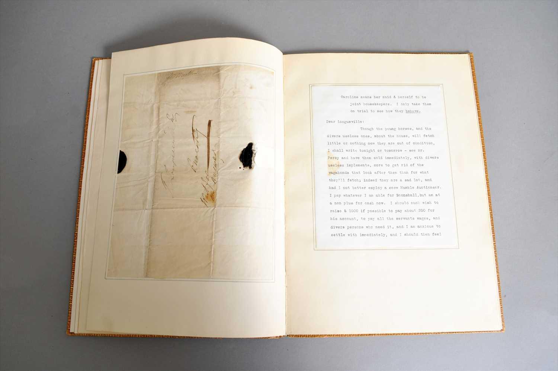 Lot 651 - John 'Mad Jack' Mytton (30 September 1796 – 29 March 1834) a hand written letter