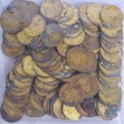 ASSORTED COINAGE. (qty)
