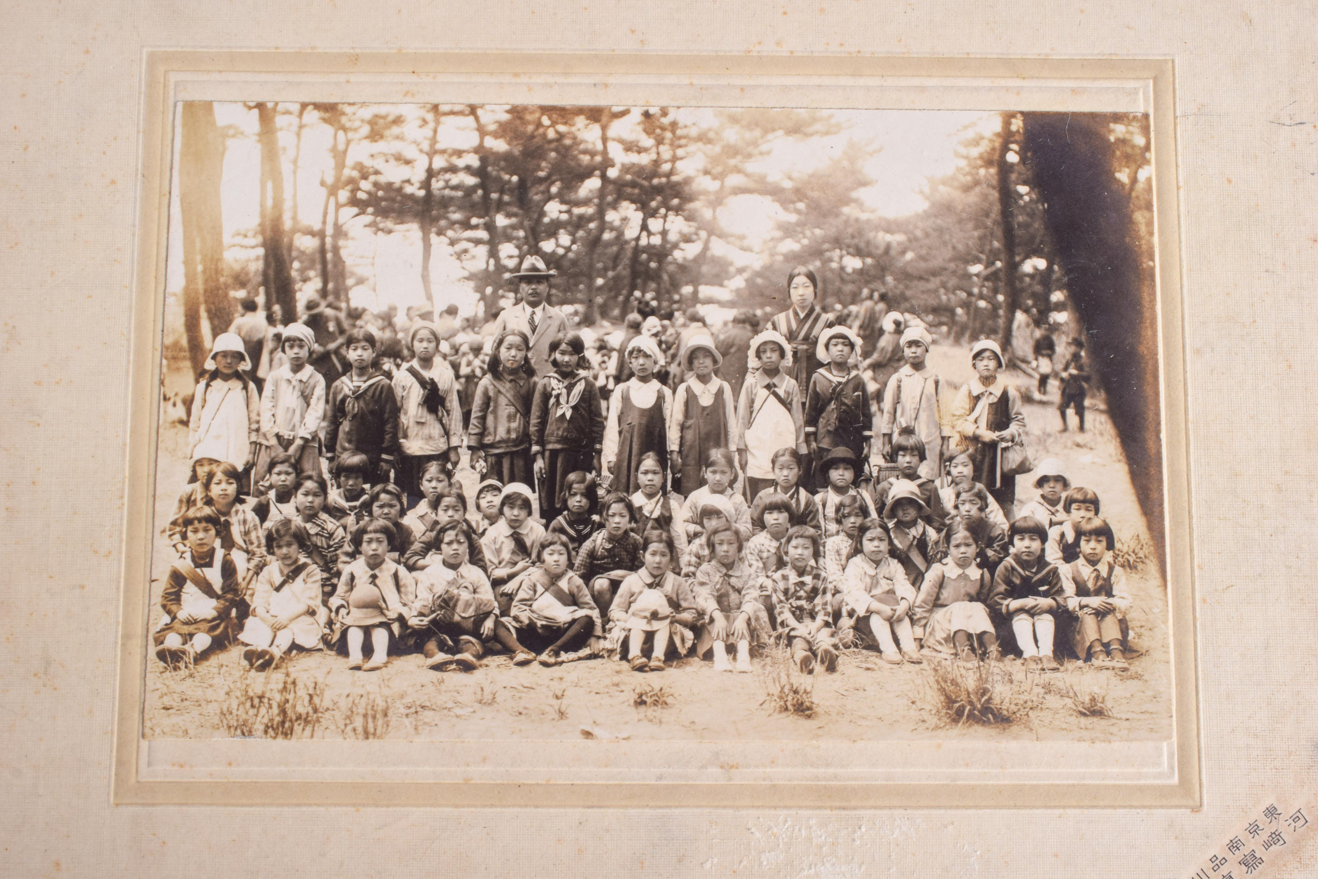 OLD JAPANESE PHOTOGRAPHS. (qty) - Image 2 of 5
