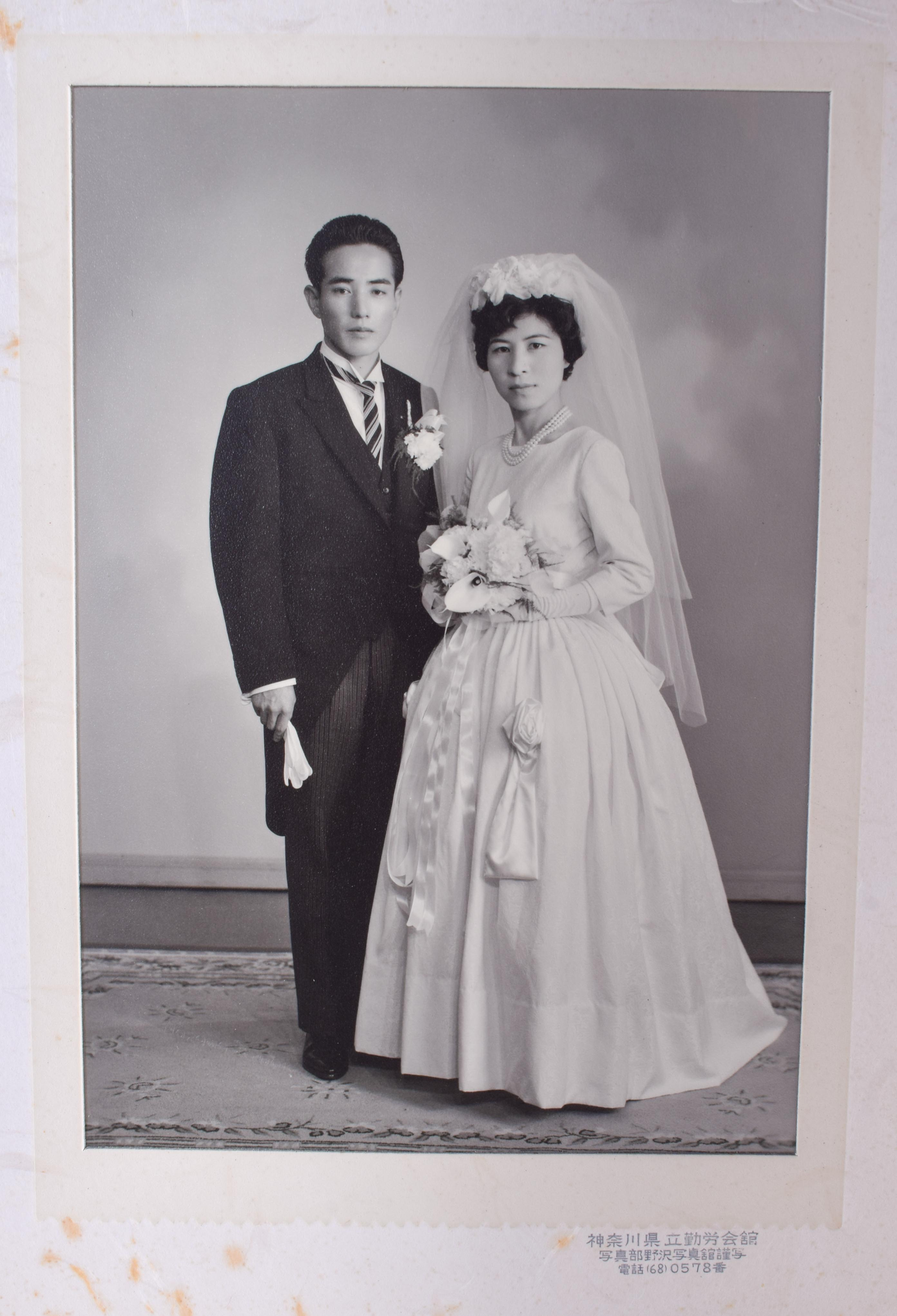 OLD JAPANESE PHOTOGRAPHS. (qty) - Image 5 of 5