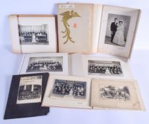 OLD JAPANESE PHOTOGRAPHS. (qty)