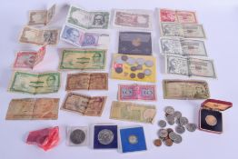 ASSORTED CURRENCY. (qty)