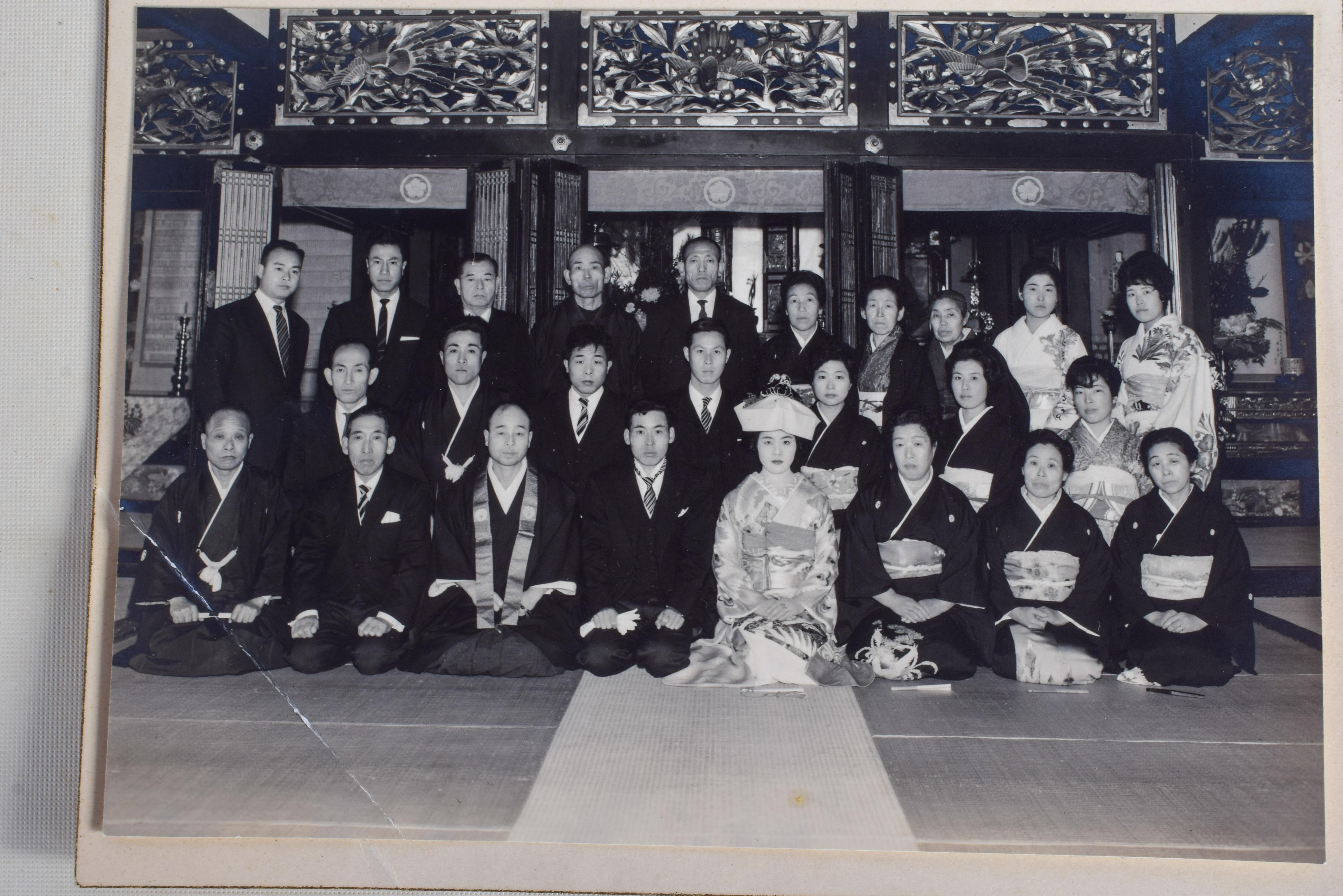 OLD JAPANESE PHOTOGRAPHS. (qty) - Image 3 of 5