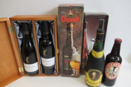 A presentation box of Ernest & Julio Gallo comprising 1 bottle of 2000 Chardonnay and a 2001