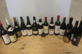 1 bottle 1929 Chateau de Ferraud Saint-Emilion, 1 bottle 1992 Cotes du Rhone Bonard and fourteen