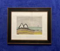 "MARKEY ROBINSON (IRISH 1918-1999) ""WHITE GABLES"""
