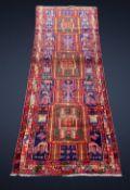 A RARE PERSIAN HAMADAN, Hamadan Province Iran, c.1960, hand woven by Azeri tribe weaver over six