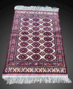 A FINE AFGHAN SAROUK RUG, Herat Province, Afghanistan, intricately hand knotted and woven over six