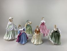 A Royal Worcester porcelain figure 'Jayne' Anniversary figurine of the year 2004, with