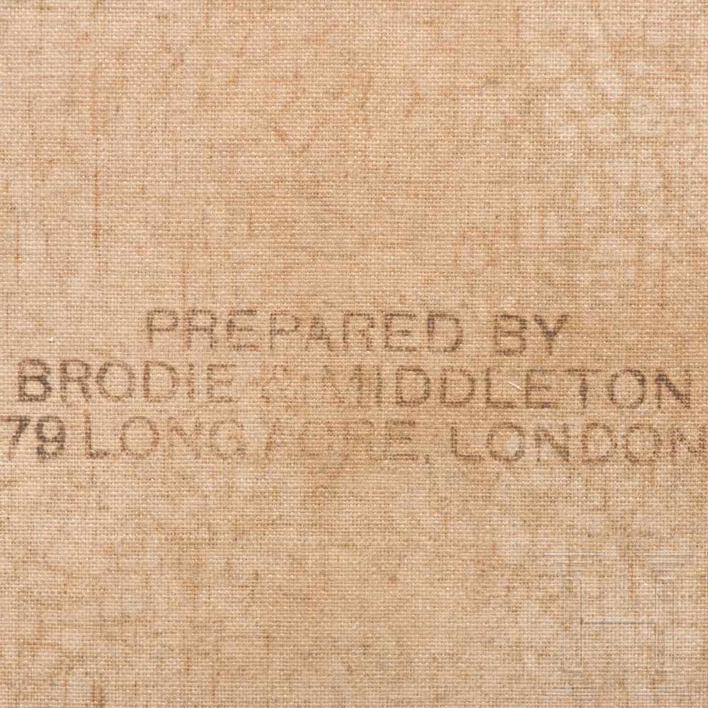 Lot 49 - Robert Gallon (1845 – 1925) – an English landscape, dated 1882Öl auf Leinwand. Sumpfiger Talgrund