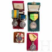 Auszeichnungen und Medaillen, Schweden, 1. Hälfte 20. Jhdt.