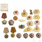 Sammlung Orden und Embleme