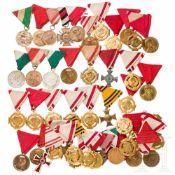 76 Auszeichnungen k.u.k Armee und 1. Republik Österreich
