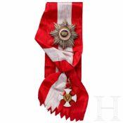 Orden der Krone von Italien - Großkreuzsatz