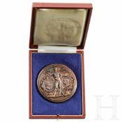 Medaille zum Besuch Wilhelms II., Italien, datiert 1888