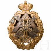 Abzeichen des 31. Alexopolsky-Infanterieregiments, Russland, um 1913/15