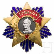 Mongolei - Orden von Süchbaatar, ab 1941