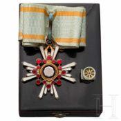 Japan - Orden der Aufgehenden Sonne (Kyokujitsu-sho) - Dekoration der 3. Klasse