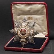 Leopold Freiherr von Leonrod - Bruststern zum Hubertus-Orden 1899 im Etui