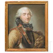 Charles Louis Auguste Fouquet, Duc de Belle-Isle (1684 - 1761) - Portrait, 18. Jhdt.