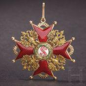 St. Stanislaus-Orden - Kreuz 1. Klasse, Russland, um 1910